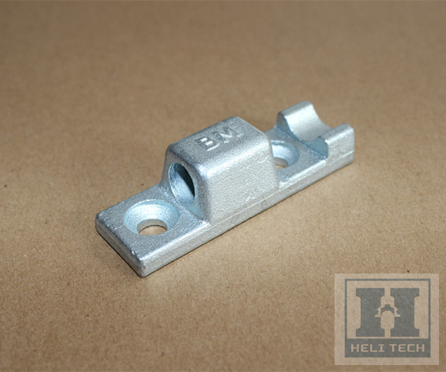 Custom Light Truck Hinge Zinc Plated