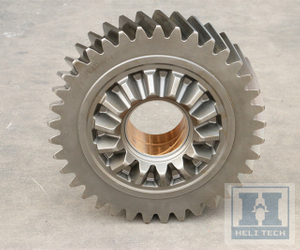 Staight Cut Bevel Gear with Helical Gear OEM Gear