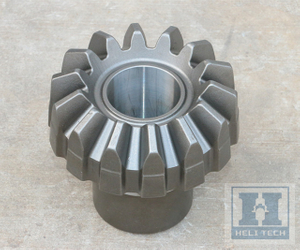 OEM Transmission Straight Teethed Bevel Gear with Spline