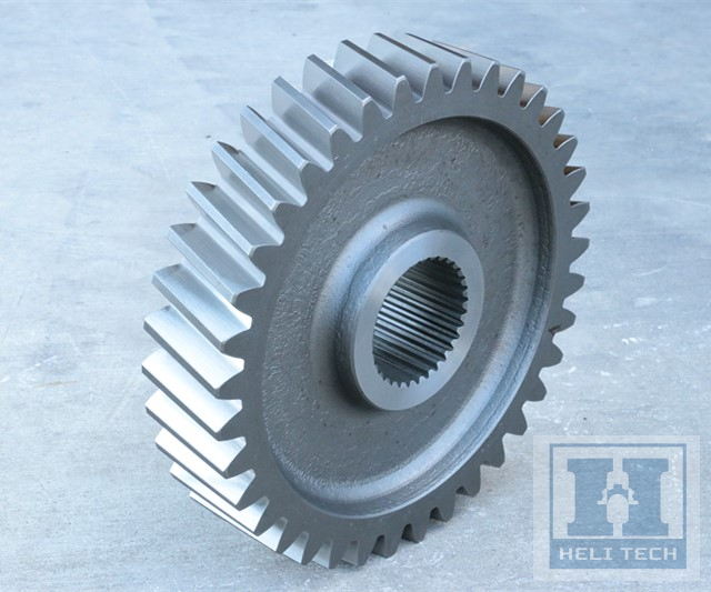 OEM Transmission Straight Teethed Differential Gear with Spline